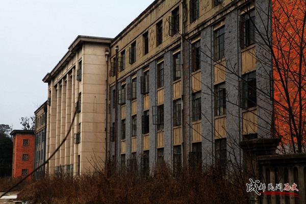 成都420厂+办公楼正立面